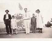 Buffalo Bill's Grave- 1920s Antique Photograph- Lookout Mountain- Golden, Colorado- Historical Figure- Found Photo- Paper Ephemera