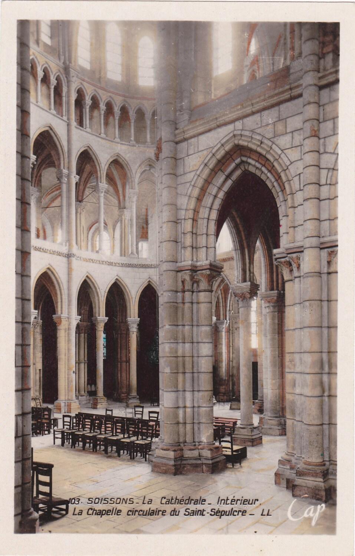 La cath drale de soissons ann es 1920 antique int rieur for Interieur 1920