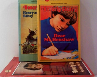 Vintage Beverly Cleary Books, Set of 6