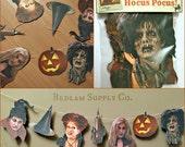 Hocus Pocus Bewitching Garland Banner