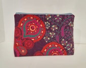 Large Indian Mandala Tapestry Zipper Storage Pouch S81