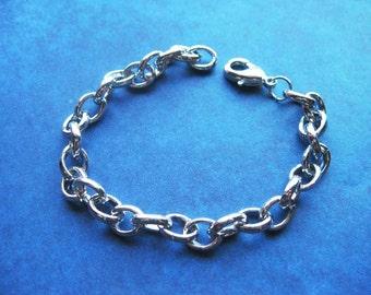 2 Charm Bracelets in Silver Tone – BR713-2