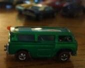 Vintage 1969 Mattel Hot Wheels  Green Volkswagon Beach Bomb