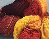 CAMPFIRE superwash merino sock yarn