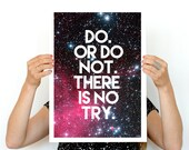 Star wars inspirational poster Wall Art- Star wars quote Art, Giclee Poster, home and living art, Wall Hanging star wars ,Geek art WP201P