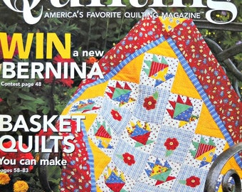 Fons and Porter's Love of Quilting Magazine, May/June 2007 Issue