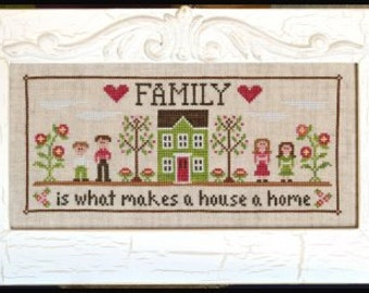 Family Home : Country Cottage Needleworks cross stitch patterns hand embroidery