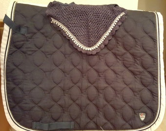 Custom Horse Bonnet to Match Your Favorite Saddle Pad