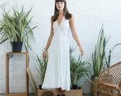 White Bias Dress, Casual wedding dress