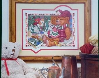 BOOTSIE & STITCH Hidden Kingdom Christmas Cross Stitch Pattern By David Wenzel - Donna Gallagher Creative Needlearts