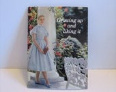 NEW Vintage 1961 Growing Up And Liking It Pamphlet from Modess