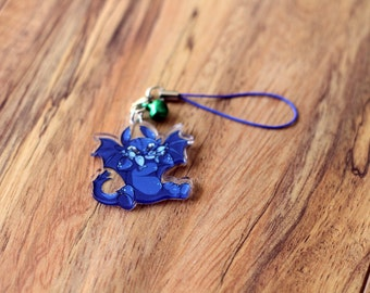 Toothless - How to Train Your Dragon Phone Charm