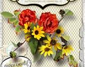 Autumn Rose CU Combo 11 by Papier Creatif CU OK