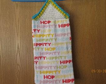 Hippity Hop Easter towel
