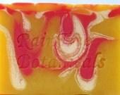 SHAMPOO// Pineapple Blossom Cold Process Luxury Soap with Jojoba
