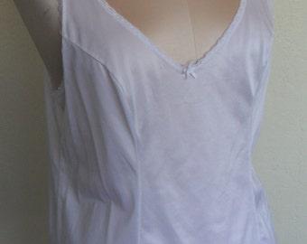 Vintage Camisole White Cami size 40/Medium Vassarette