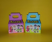 Teen Titans Go Favor Box -Treat bags