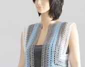 Crochet bolero-shrug- pattern pdf Vest pattern
