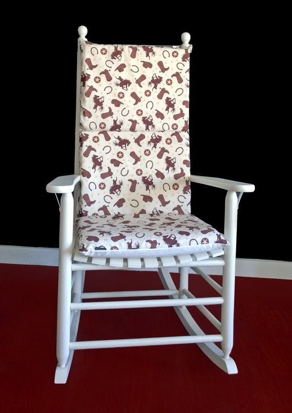 rocking chair cushion cover boys nursery room rocking chair cover