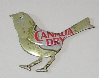 Bird Magnet - Canada Dry Ginger Ale Soda Can