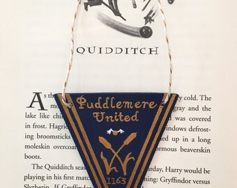 Puddlemere United Mini Quidditch Pennant