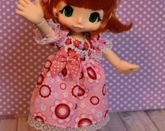 Pink dress for Kikipop