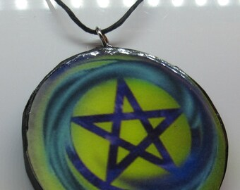 Air Pentacle Necklace