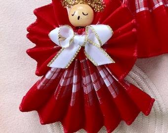 Angel, 3 Inch Angel Ornament, Handmade 2015 Designs