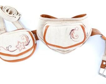 Fanny Pack - Hip Bag - Hip Belt - Utility Hip Belt  - High Quality - Belt with Pockets  [Festival.Travel.Concert]