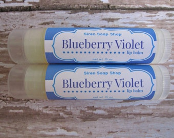 Blueberry Violet Lip Balm