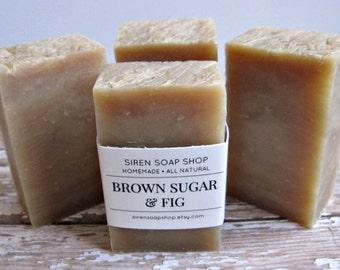 Brown Sugar Fig Soap, Brown Sugar, Fig, Vanilla