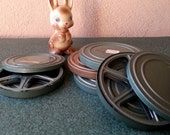 small metal film canisters vintage 60s