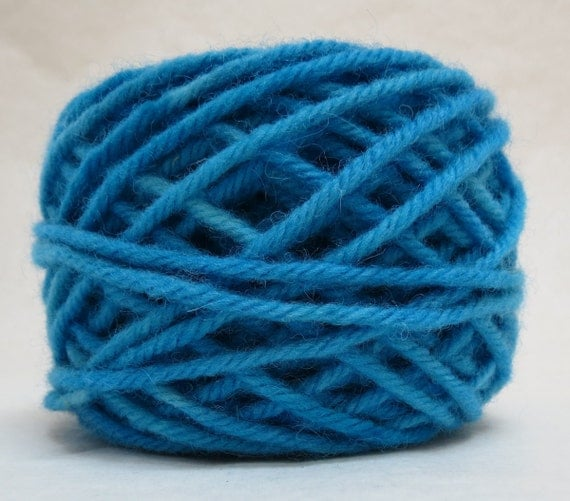 PACIFIC, 100% Wool, 2 oz. 43 yards, 4-Ply, Bulky weight or 3-ply Worsted weight yarn, already wound into cakes, ready to use. Made to order