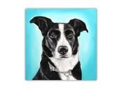 """11""""x14"""" Oil custom pet portrait, original oil painting dog cat animal pet lover painting unique handmade gift idea"""