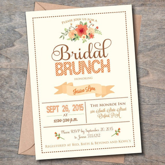 Fall Party Invitation Wording with nice invitation design