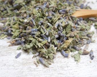 Lavender Verbena Organic Herbal Loose Tea / Healing Teas