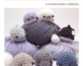 amigurumi pattern - sea creatures crochet pattern ebook