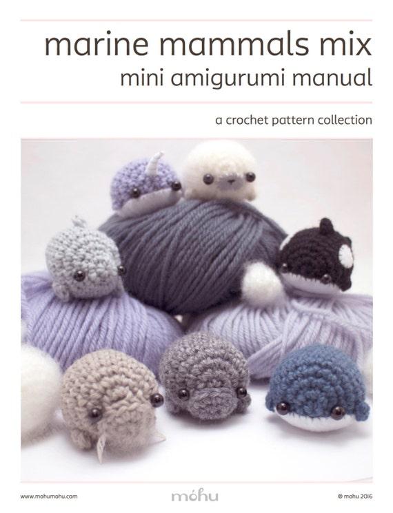 Knitted Amigurumi Sea Creatures : amigurumi pattern sea creatures crochet pattern ebook