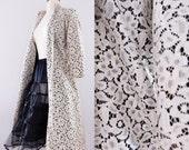 Vintage 1960s Lace Ivory Evening Jacket