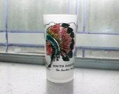 Vintage Souvenir Glass Tumbler South Dakota