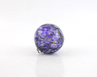 Purple Blown Glass Ornament - O19