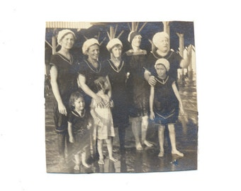 The GIRLS Club at the Beach snapshot Social Realism Photography vernacular photos found photo fine art vintage original old photograph