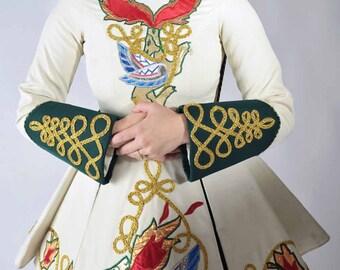 vintage irish dancing costume halloween costumes at fab gabs the bonny lass dress - Irish Dancer Halloween Costume