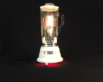 Table Lamp - Lighting - Upcycled Lamp - Light