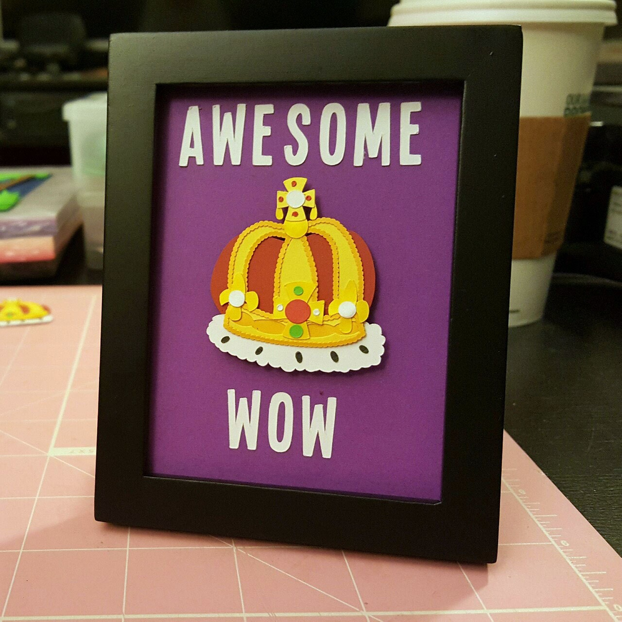 Awesome. Wow. Mini-Frame