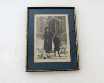 The Ladies Home Journal March 1894 Cover Framed