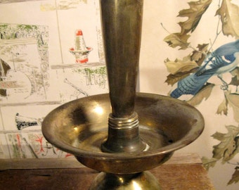 Huge All-Brass Double-Socket Lamp