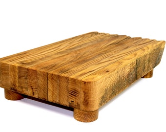 Wine And Bourbon Barrel Cutting Boards