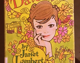 My Davy by Janet Lambert Hardcover with Dustjacket vintage teen fiction 1960's teen book 1968 First Edition Parri MacDonald GIrl's Fiction