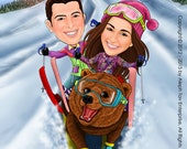 Caricatures for Wedding